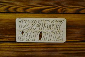 Набор цифр для циферблата №15 (10-015/2/ПК)