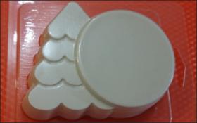 Форма для мыла Новогодняя открытка
