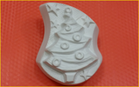Форма для мыла Ёлка волна