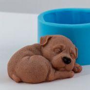 Форма для мыла Собака 3 3D (силикон)