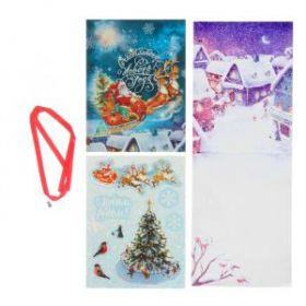 """Набор по созданию поп-ап открытки """"Счастливого Нового Года!"""", 16 х 24 см"""