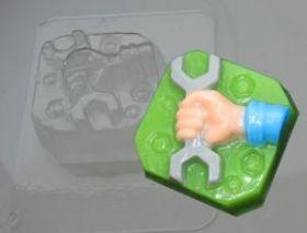 Форма для мыла Механик